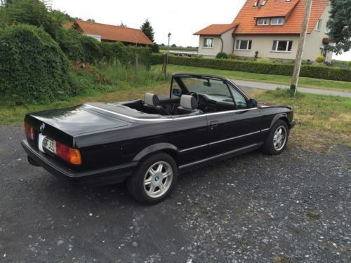 verkauft bmw 320 cabriolet i e30 gebraucht 1988. Black Bedroom Furniture Sets. Home Design Ideas