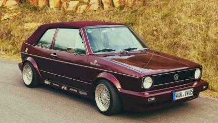 verkauft vw golf cabriolet 1 etienne a gebraucht 1991 km in bad salzungen. Black Bedroom Furniture Sets. Home Design Ideas