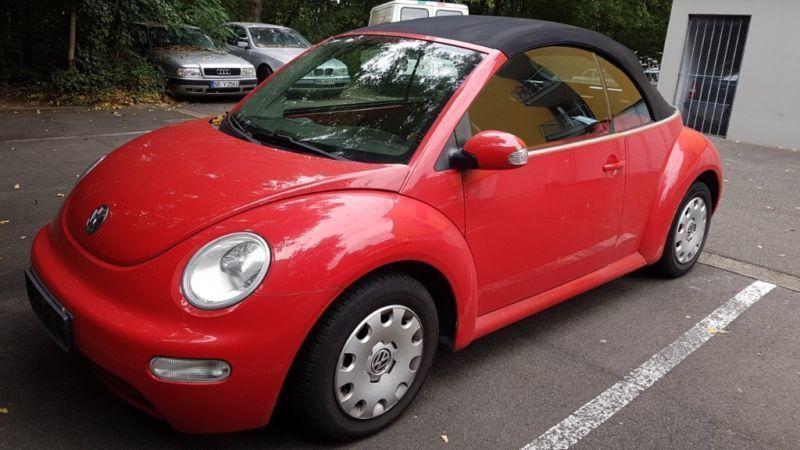 verkauft vw beetle newcabriolet 1 4 gebraucht 2003 km in eppstein. Black Bedroom Furniture Sets. Home Design Ideas