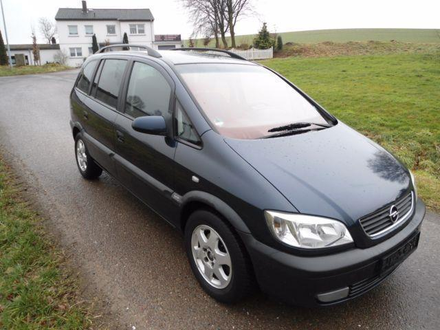 verkauft opel zafira 1 8 16v selection gebraucht 2001 km in hehlen. Black Bedroom Furniture Sets. Home Design Ideas