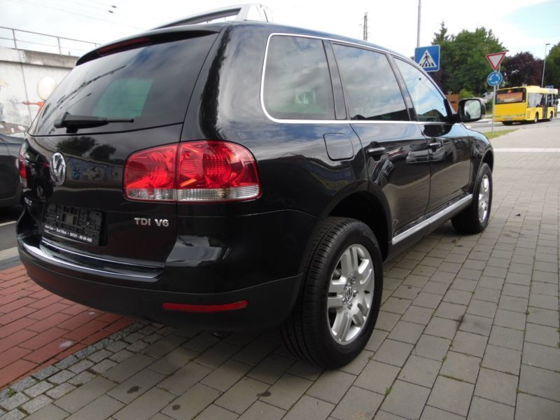 verkauft vw touareg 3 0 v6 tdi dpf aut gebraucht 2006 km in bad vilbel fran. Black Bedroom Furniture Sets. Home Design Ideas