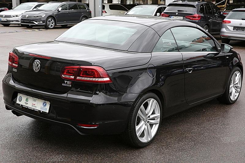 Verkauft VW Eos CUP 1.4TSI ALU Klima N., gebraucht 2015