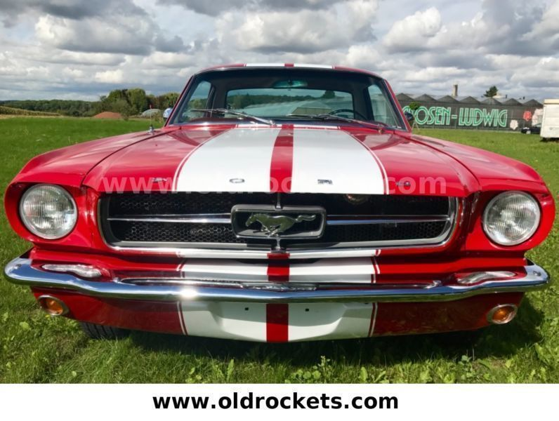verkauft ford mustang v8 rote pony a gebraucht 1965 9. Black Bedroom Furniture Sets. Home Design Ideas