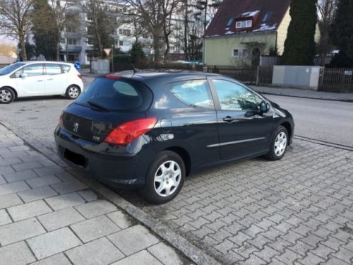 verkauft peugeot 308 120 vti automatik gebraucht 2008 km in bayern. Black Bedroom Furniture Sets. Home Design Ideas