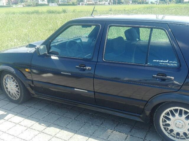 verkauft vw golf ii 19e 1 6er bitte le gebraucht 1989 km in weselberg. Black Bedroom Furniture Sets. Home Design Ideas