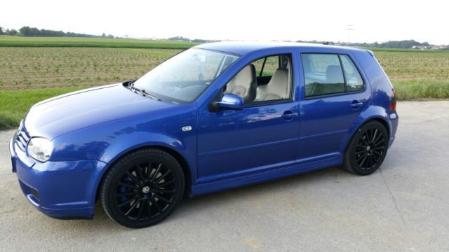 verkauft vw golf iv 3 2 r32 r blau sel gebraucht 2003 km in k nigsbrunn. Black Bedroom Furniture Sets. Home Design Ideas