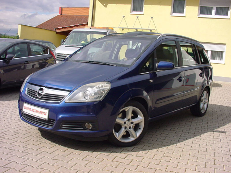verkauft opel zafira b cosmo gebraucht 2006 km in frankenthal. Black Bedroom Furniture Sets. Home Design Ideas
