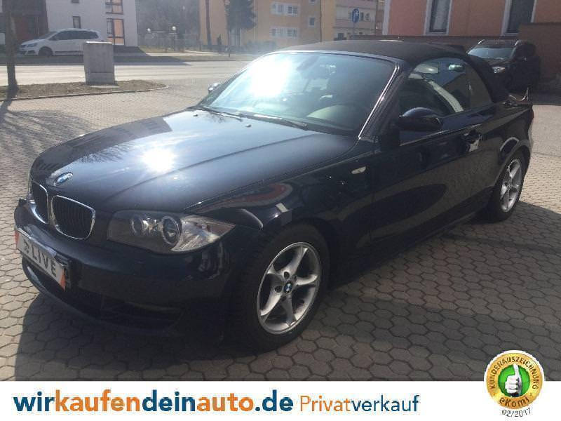 verkauft bmw 120 cabriolet gebraucht 2009 km in n rnberg. Black Bedroom Furniture Sets. Home Design Ideas