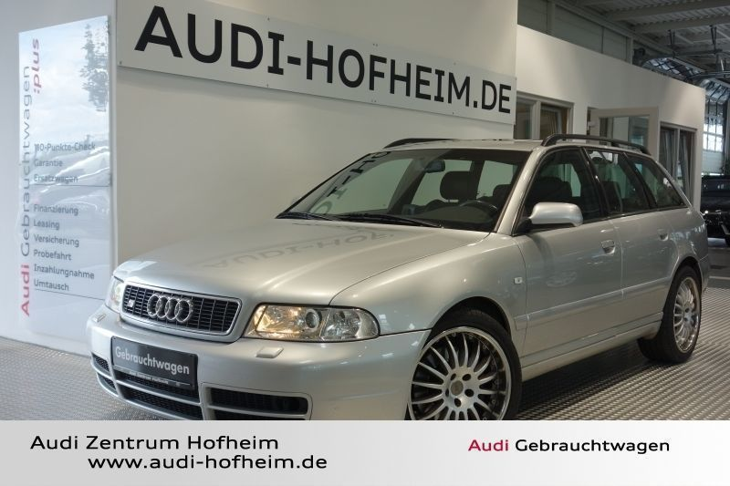 verkauft audi s4 avant 2 7 quattro 195 gebraucht 2000 km in hofheim. Black Bedroom Furniture Sets. Home Design Ideas