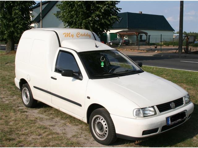 verkauft vw caddy pickup 9u71y2 gebraucht 1997. Black Bedroom Furniture Sets. Home Design Ideas