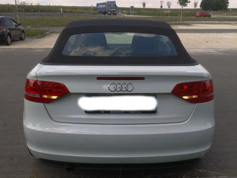verkauft audi a3 cabriolet 2 0 tdi dpf gebraucht 2012 km in kleinmachnow. Black Bedroom Furniture Sets. Home Design Ideas