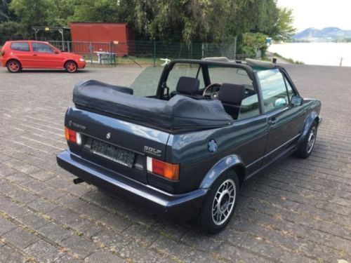 verkauft vw golf cabriolet 1 us modell gebraucht 1989 km in burgwedel. Black Bedroom Furniture Sets. Home Design Ideas