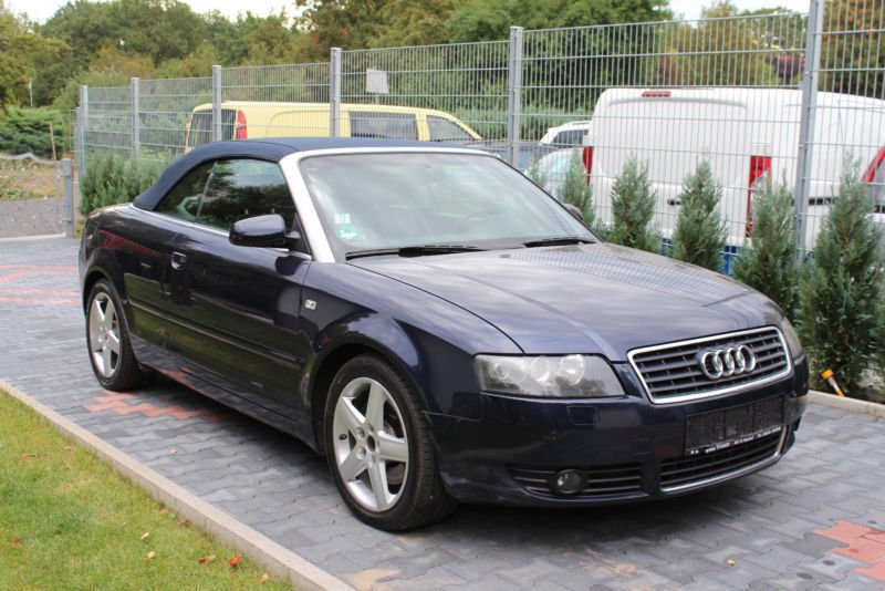 gebraucht 2 5 tdi mmi leder automatik euro 4 audi a4 cabriolet 2005 km in offenbach. Black Bedroom Furniture Sets. Home Design Ideas
