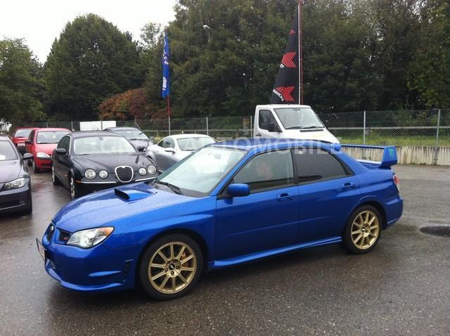 verkauft subaru impreza wrx sti orig gebraucht 2006 km in. Black Bedroom Furniture Sets. Home Design Ideas