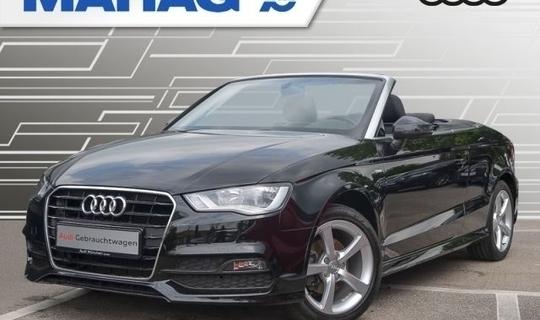 verkauft audi a3 cabriolet 1.4 tfsi s-., gebraucht 2015, 41.510 km