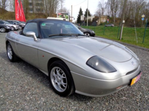 verkauft fiat barchetta 1 8 16v gebraucht 1998 km in nordhausen. Black Bedroom Furniture Sets. Home Design Ideas