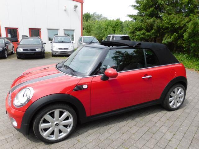 verkauft mini cooper cabriolet 1 6 gebraucht 2009 km in mielkendorf bei. Black Bedroom Furniture Sets. Home Design Ideas
