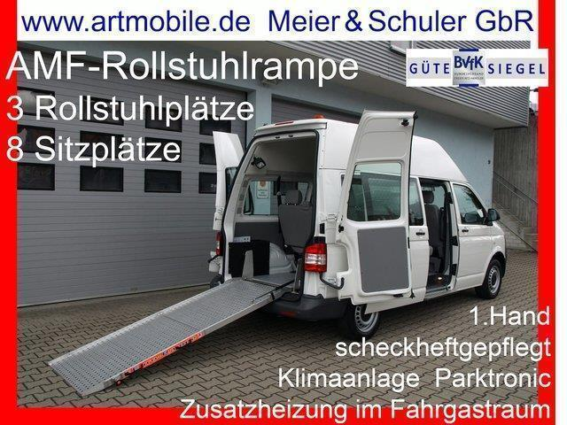 verkauft vw t5 kombi behindertengerech gebraucht 2011 km in m hlacker. Black Bedroom Furniture Sets. Home Design Ideas