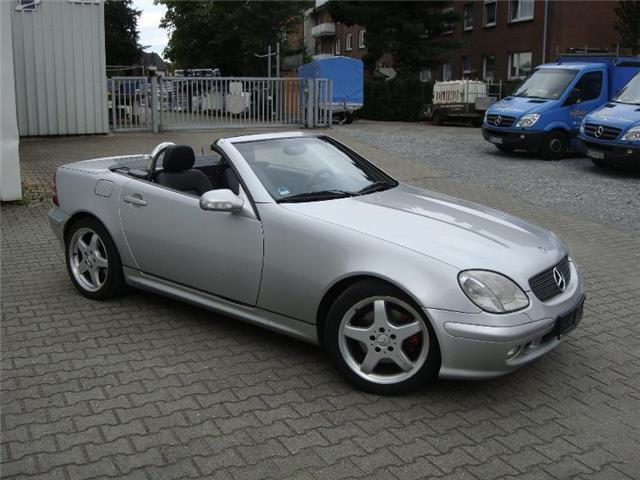 verkauft mercedes slk320 gebraucht 2002 km in dresden. Black Bedroom Furniture Sets. Home Design Ideas