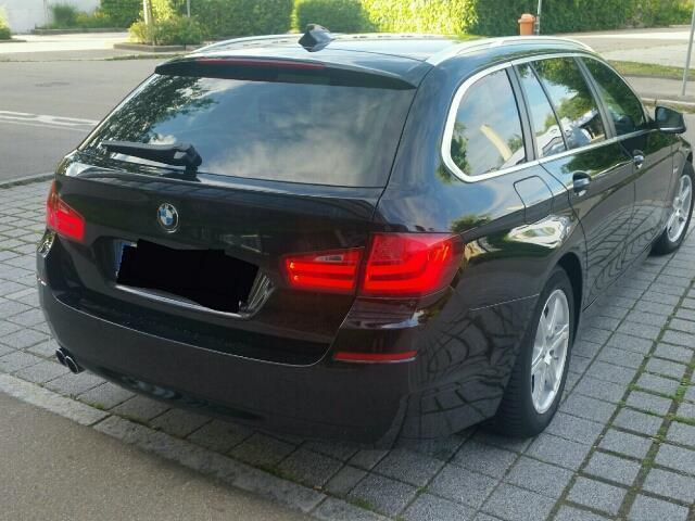 verkauft bmw 520 5er touring gebraucht 2011 km in memmingen. Black Bedroom Furniture Sets. Home Design Ideas