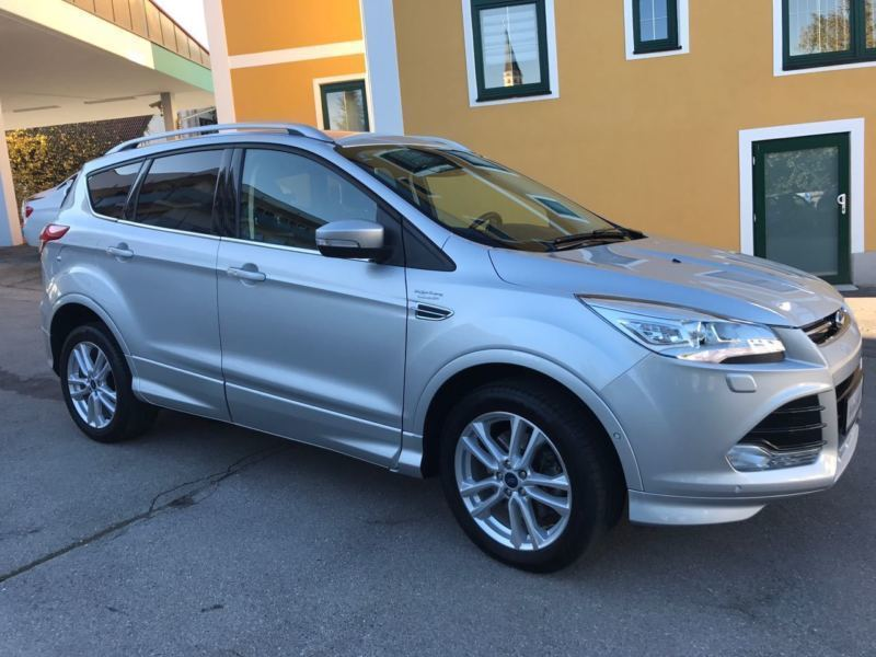 verkauft ford kuga 2 0 tdci 4x4 aut i gebraucht 2015 km in kissing. Black Bedroom Furniture Sets. Home Design Ideas