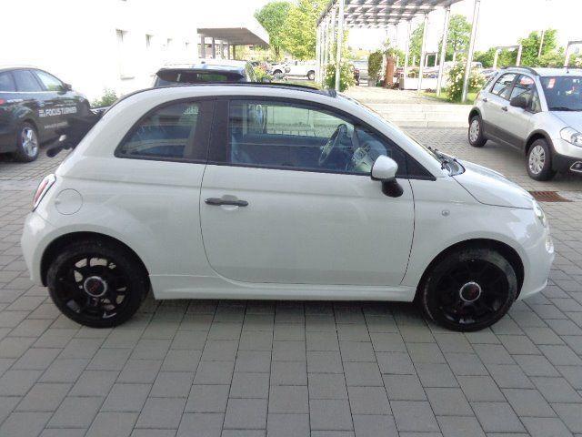 verkauft fiat 500 cabrio s sportpaket gebraucht 2013 km in deggendorf fische. Black Bedroom Furniture Sets. Home Design Ideas
