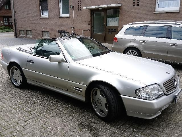 verkauft mercedes sl500 cabrio v 8 r 1 gebraucht 1996. Black Bedroom Furniture Sets. Home Design Ideas