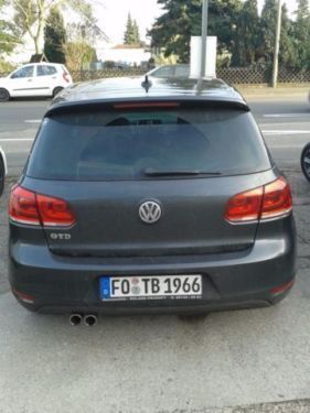 verkauft vw golf vi 2 0 gtd tdi gebraucht 2010 km in lengerich. Black Bedroom Furniture Sets. Home Design Ideas