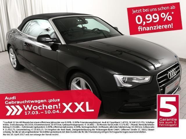 gebraucht Audi A5 Cabriolet 2.0TDi Multitr./18Z/NAV+/Alcantara (Navi