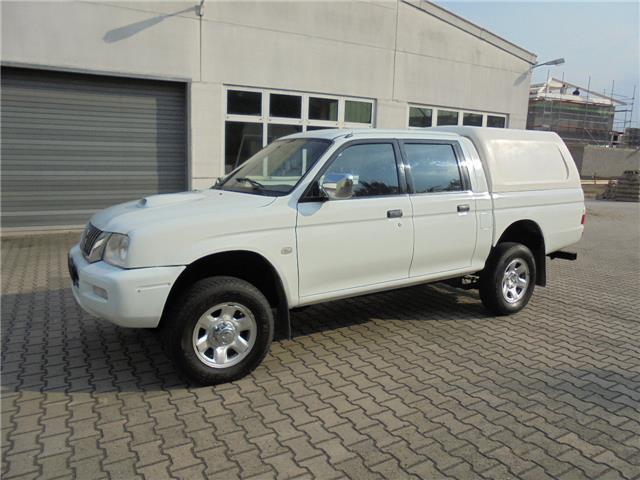 gebraucht pick up 4x4 lkw zulassung mitsubishi l200 2004 km in bockenheim. Black Bedroom Furniture Sets. Home Design Ideas