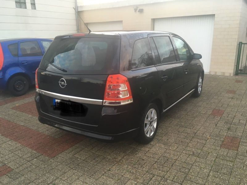 verkauft opel zafira 1 8 gebraucht 2009 km in. Black Bedroom Furniture Sets. Home Design Ideas