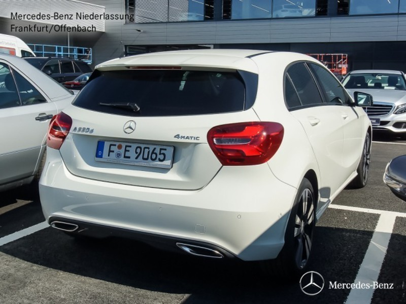 verkauft mercedes a220 d 4matic gebraucht 2016 km in frankfurt am main. Black Bedroom Furniture Sets. Home Design Ideas