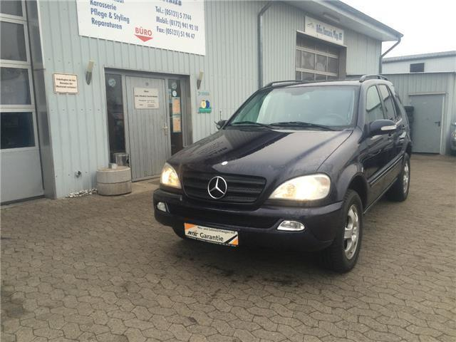 verkauft mercedes ml270 cdi gebraucht 2003 km in hildesheim. Black Bedroom Furniture Sets. Home Design Ideas