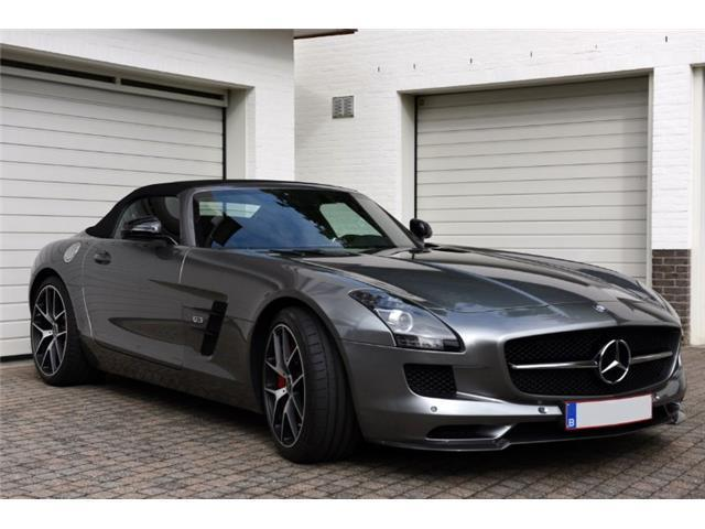 verkauft mercedes sls amg roadster gt gebraucht 2014 km in aachen. Black Bedroom Furniture Sets. Home Design Ideas