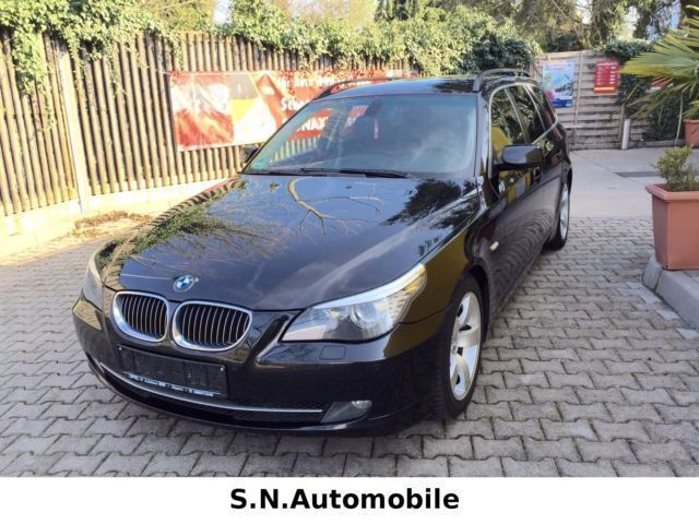 verkauft bmw 525 d touring navi pdc t gebraucht 2008 km in n rnberg. Black Bedroom Furniture Sets. Home Design Ideas