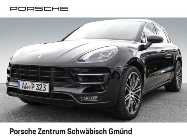 verkauft porsche macan turbo gebraucht 2017 km in schw bisch gm nd. Black Bedroom Furniture Sets. Home Design Ideas