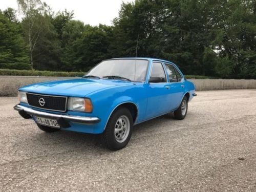 gebraucht opel ascona 1976 km in r sselsheim autouncle. Black Bedroom Furniture Sets. Home Design Ideas