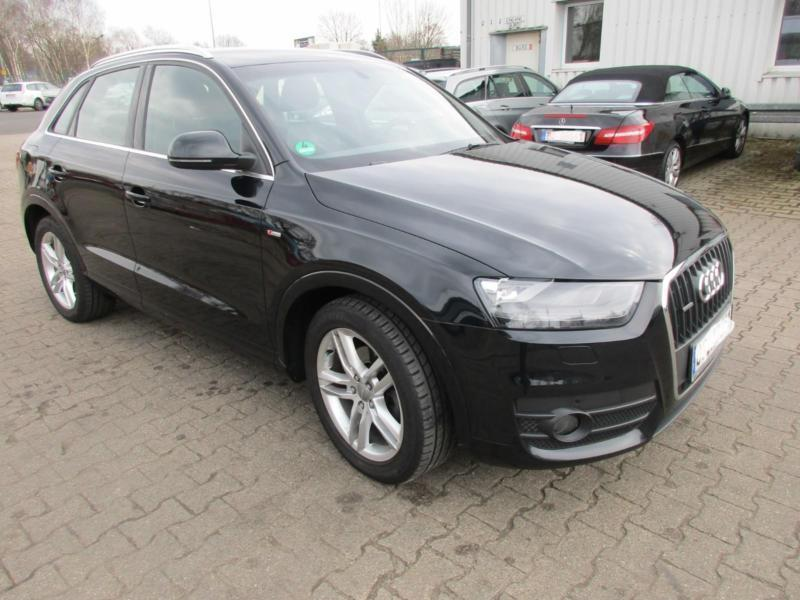 verkauft audi q3 2 0 tdi quattro s line gebraucht 2012. Black Bedroom Furniture Sets. Home Design Ideas