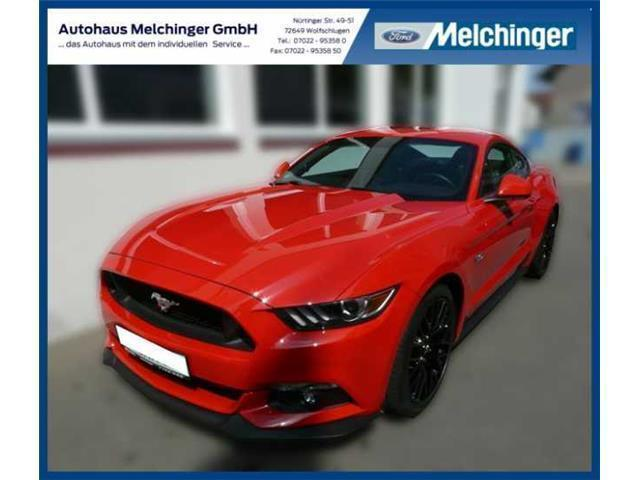 verkauft ford mustang gt 5 0 ti vct v8 gebraucht 2016 7. Black Bedroom Furniture Sets. Home Design Ideas