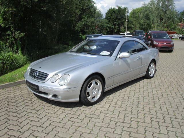 verkauft mercedes cl500 comand keyless gebraucht 2003 km in neustadt i h. Black Bedroom Furniture Sets. Home Design Ideas