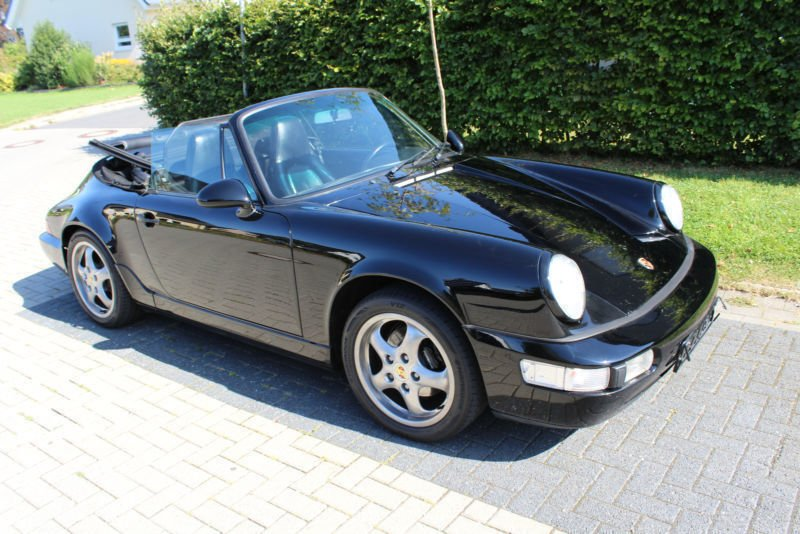 verkauft porsche 911 carrera 4 cabriol gebraucht 1990. Black Bedroom Furniture Sets. Home Design Ideas