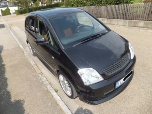 verkauft opel meriva 1 7 cdti edition gebraucht 2005 km in nassenfels. Black Bedroom Furniture Sets. Home Design Ideas