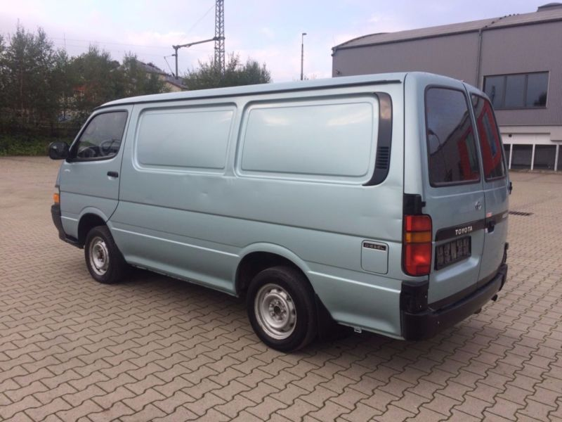 verkauft toyota hiace h20 gebraucht 1994 km in. Black Bedroom Furniture Sets. Home Design Ideas