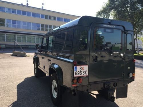 gebraucht 110 kipper ahk pritsche klima seilwinde land rover defender 2006 km in. Black Bedroom Furniture Sets. Home Design Ideas