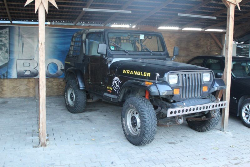 verkauft jeep wrangler 2 5 hardtop s gebraucht 1995 km in deggendorf. Black Bedroom Furniture Sets. Home Design Ideas