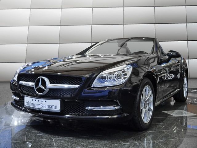 verkauft mercedes slk200 be cabrio 7g gebraucht 2012. Black Bedroom Furniture Sets. Home Design Ideas