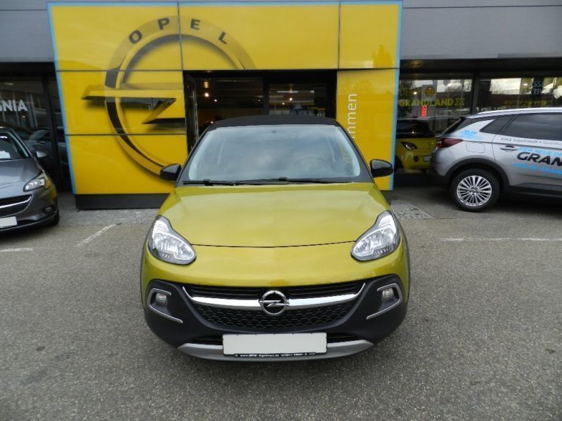 verkauft opel adam rocks 1 4 mit faltd gebraucht 2014 km in schulzendorf. Black Bedroom Furniture Sets. Home Design Ideas