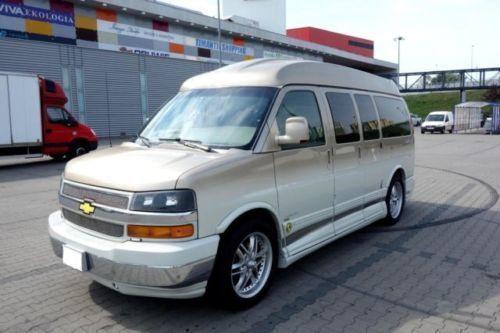 verkauft chevrolet express explorer li., gebraucht 2008, 112.000 km