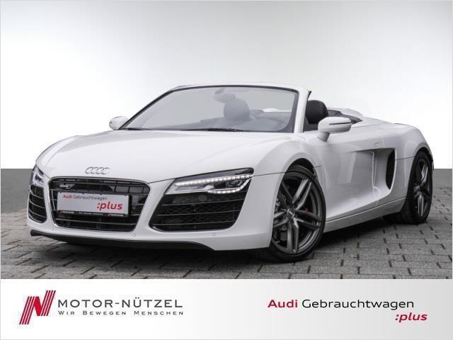 verkauft audi r8 spyder 4 2fsi quattro gebraucht 2014 km in bamberg. Black Bedroom Furniture Sets. Home Design Ideas