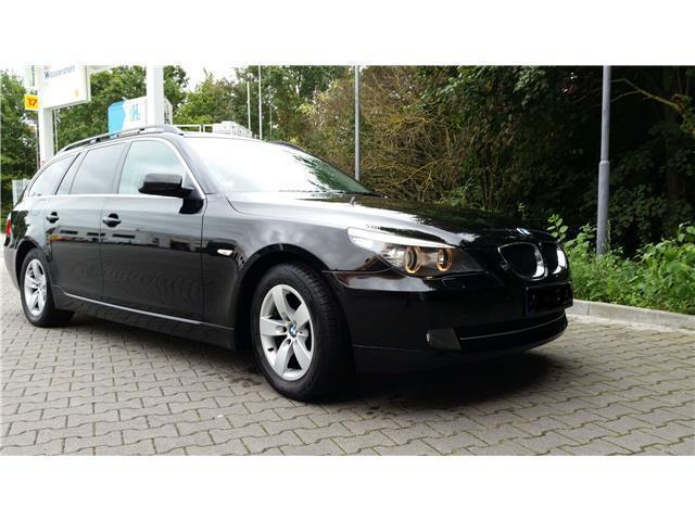 gebraucht 5er touring bmw 520 2007 km in wiesbaden. Black Bedroom Furniture Sets. Home Design Ideas